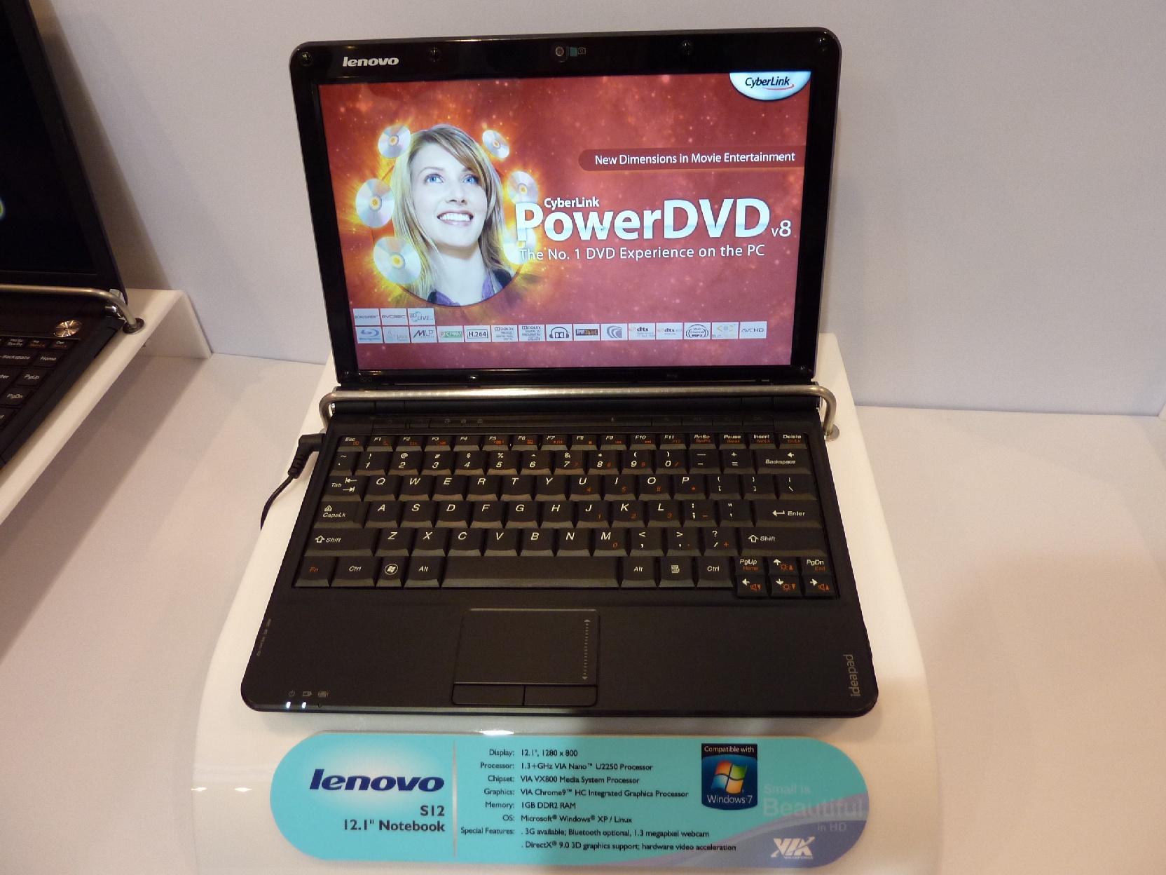 Lenovo Ideapad S12 Nvidia Ion Release Date