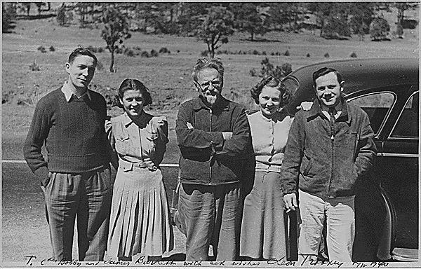 Leo Trotzki in Mexiko
