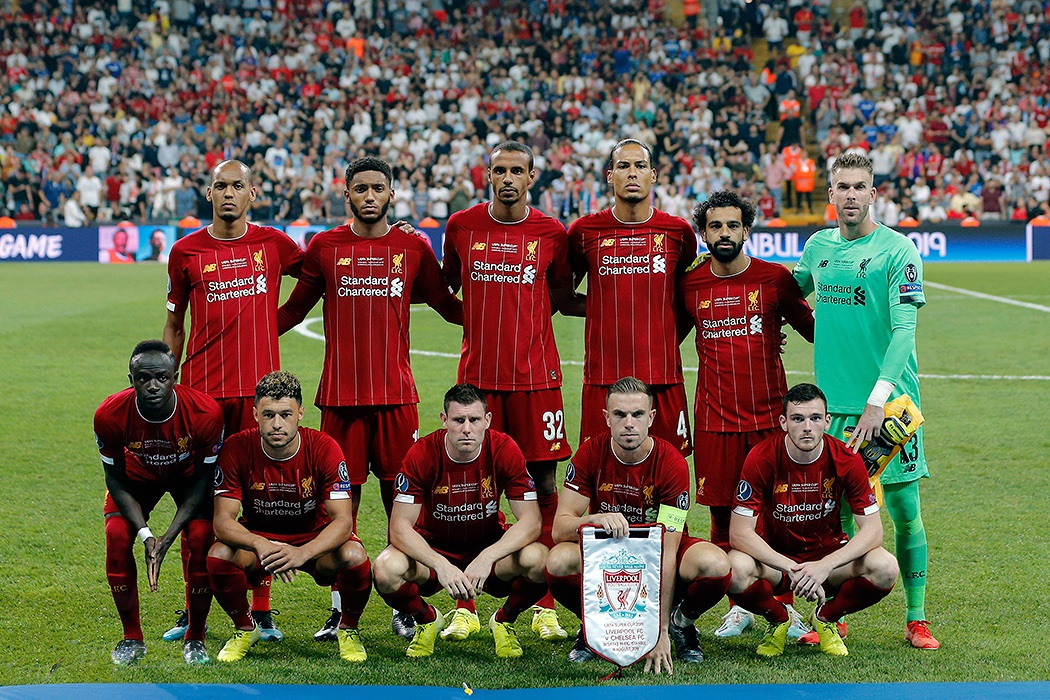 Liverpool Football Club 2019-2020 - Wikipedia