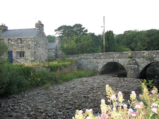 Llanbedr Bridge - geograph.org.uk - 221378