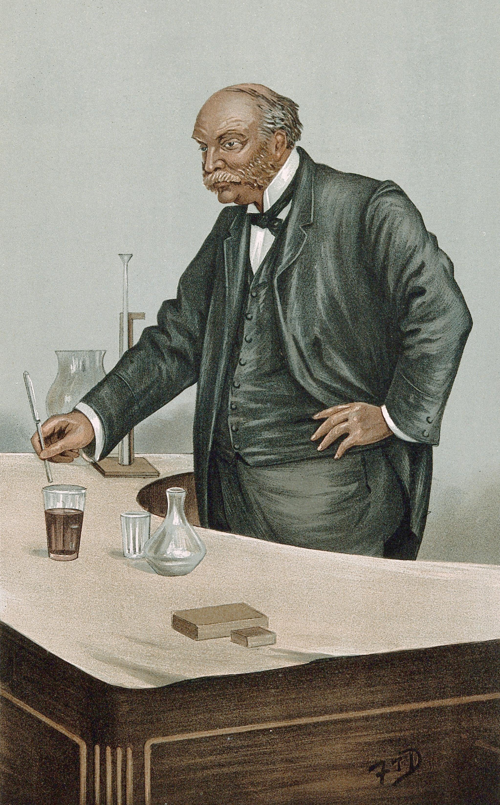 Lord Rayleigh Vanity Fair 21 December 1899