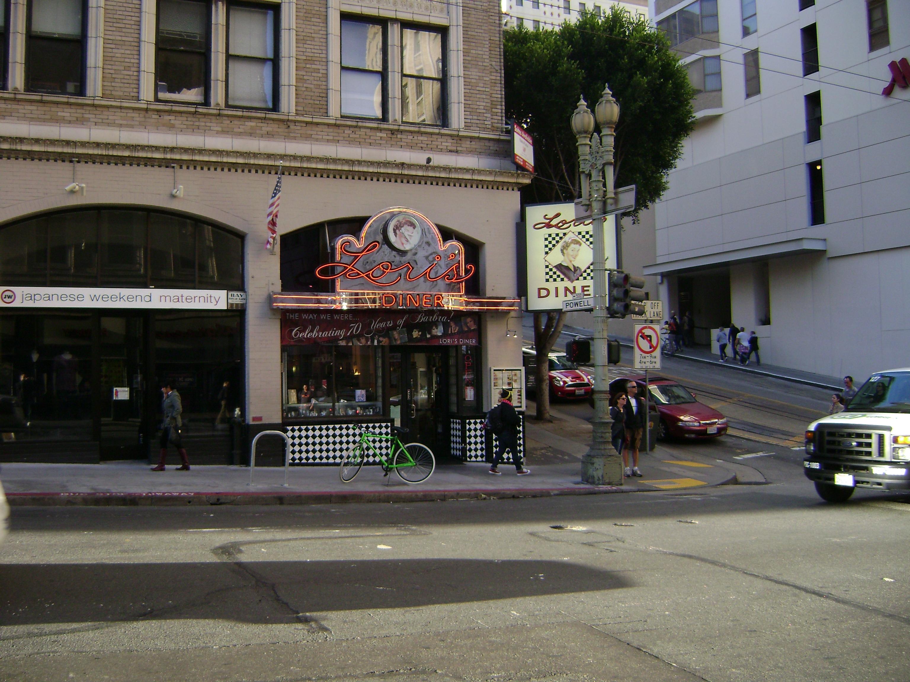 Mini Of San Francisco >> File:Lori's Diner, San Francisco.JPG - Wikimedia Commons
