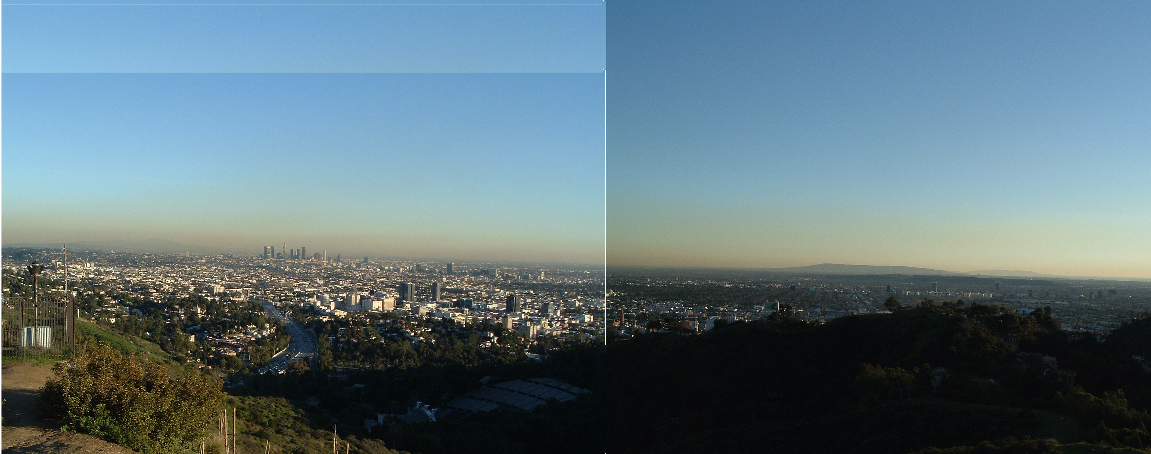 File los angeles mulholland wikimedia commons - Panoramic les angles ...