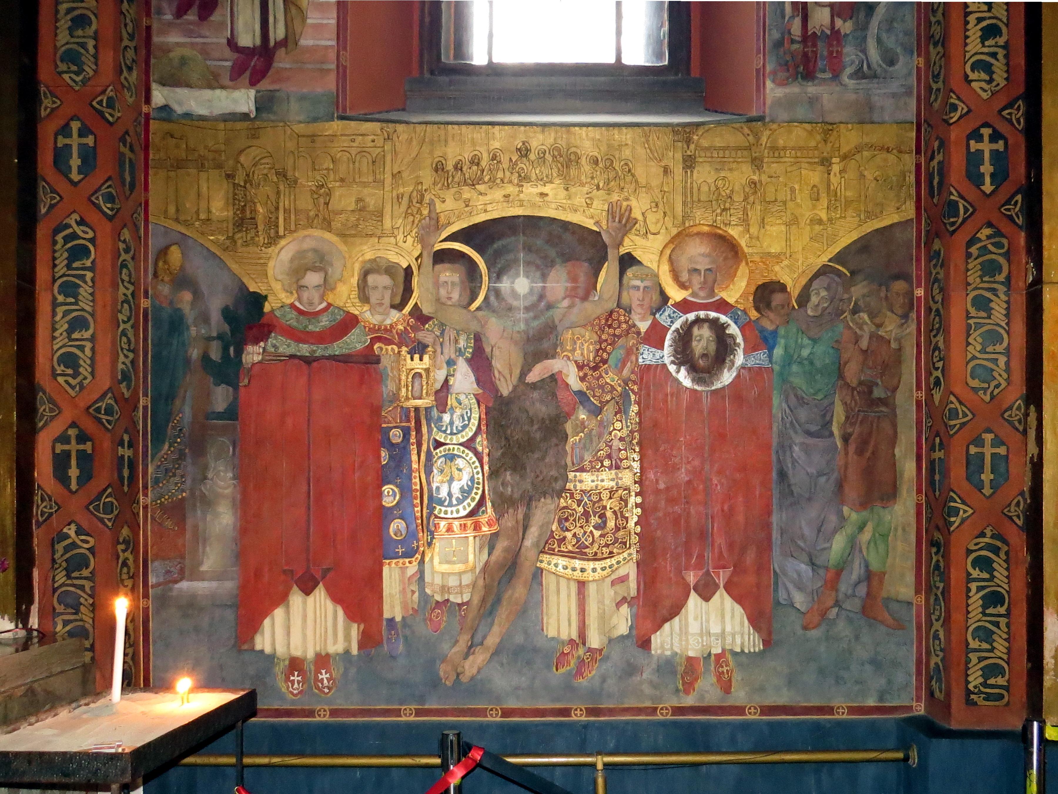 File:Lviv-Armenian church-fresco-3 jpg - Wikimedia Commons