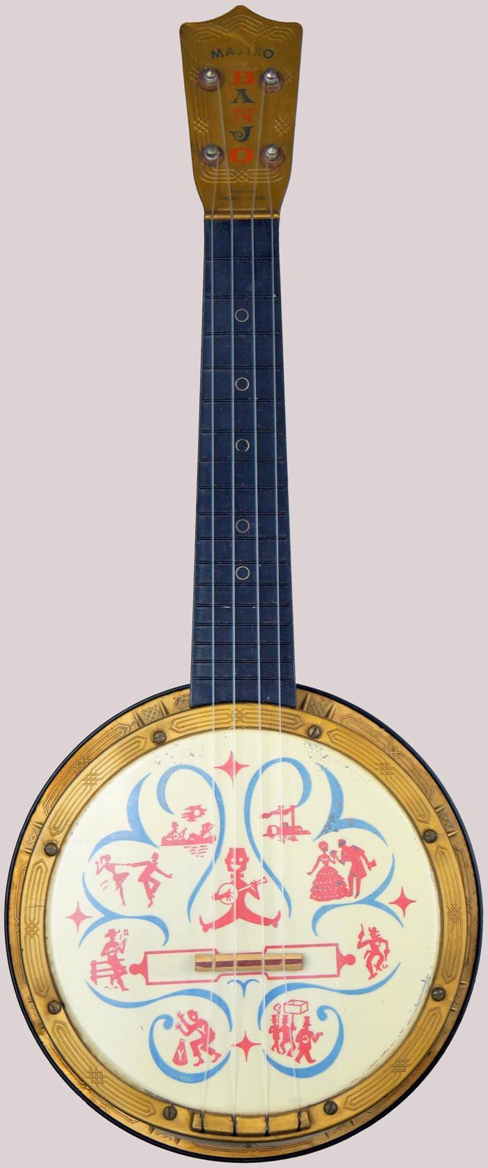 Maccaferri Maestro Plastic Banjolele Banjo Ukulele