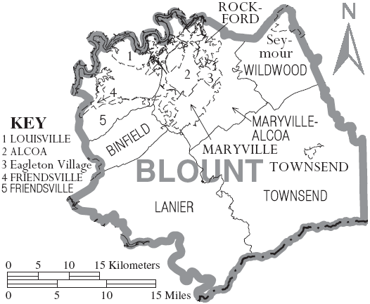 File:Map of Blount Countyblount county