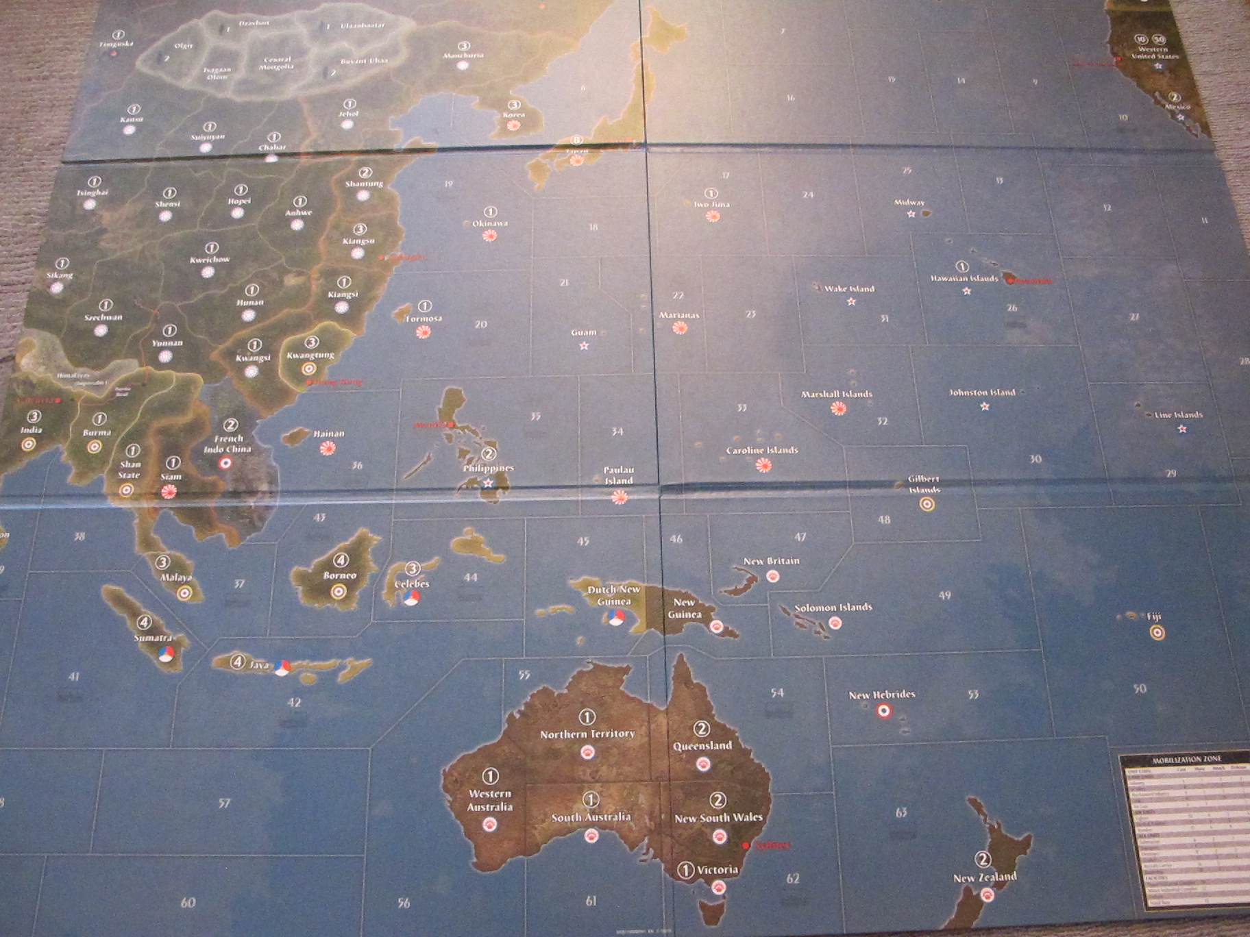axis and allies pacific map Axis Allies Pacific 1940 Wikipedia axis and allies pacific map