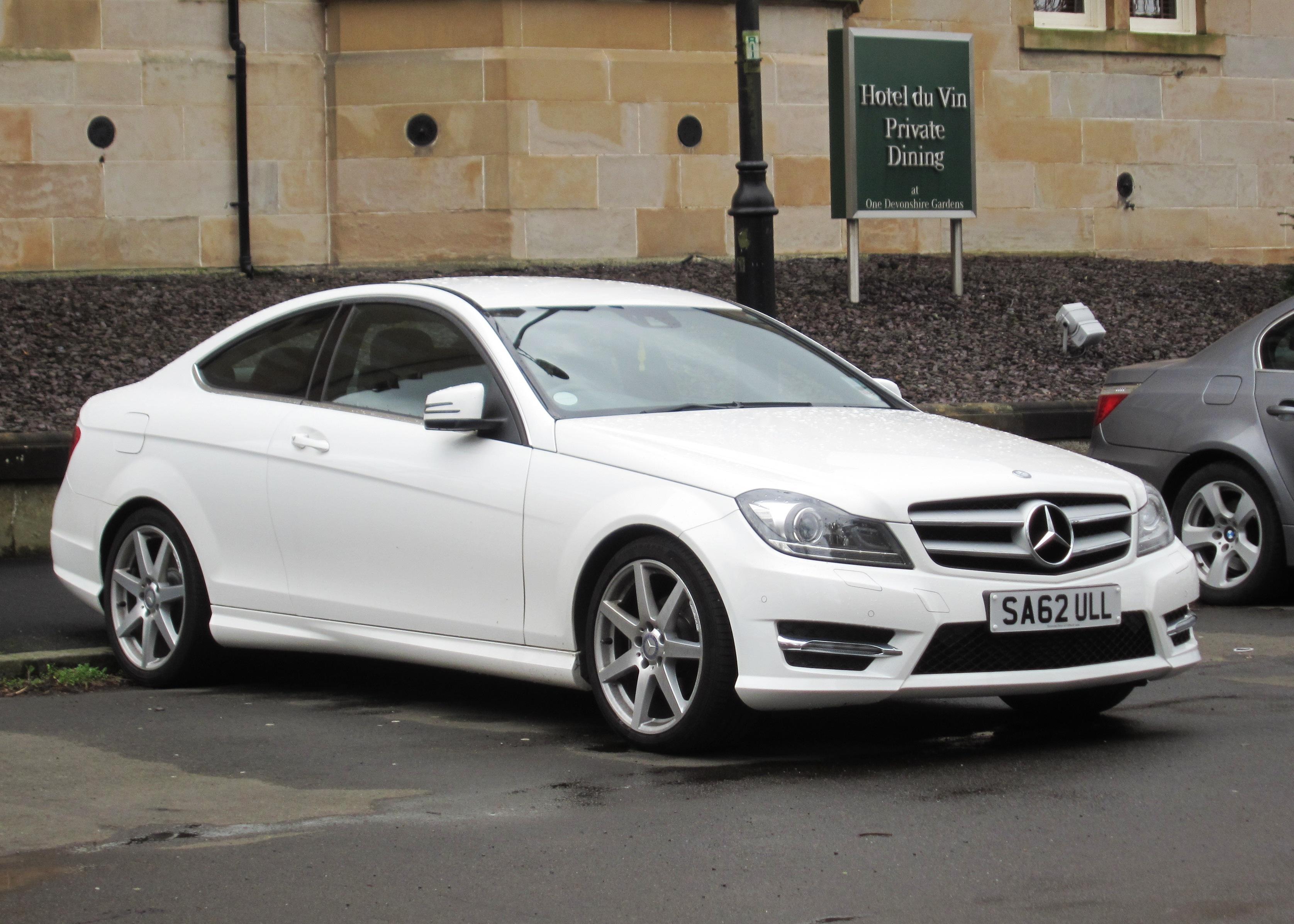 File Mercedes Benz C204 C Klasse Coupe Registered October
