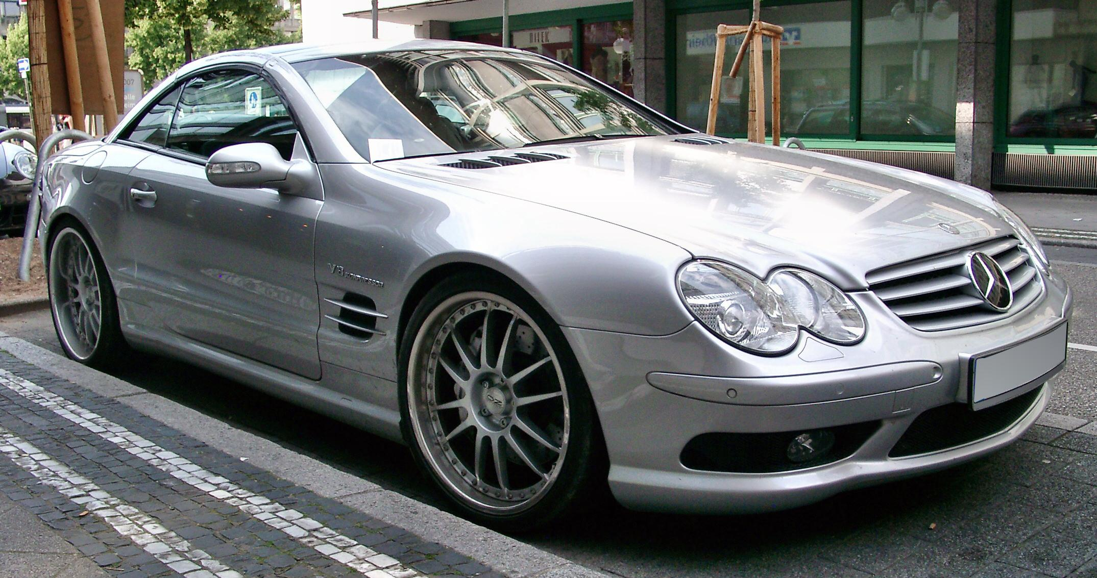 File Mercedes Sl Front 20070523 Jpg Wikimedia Commons