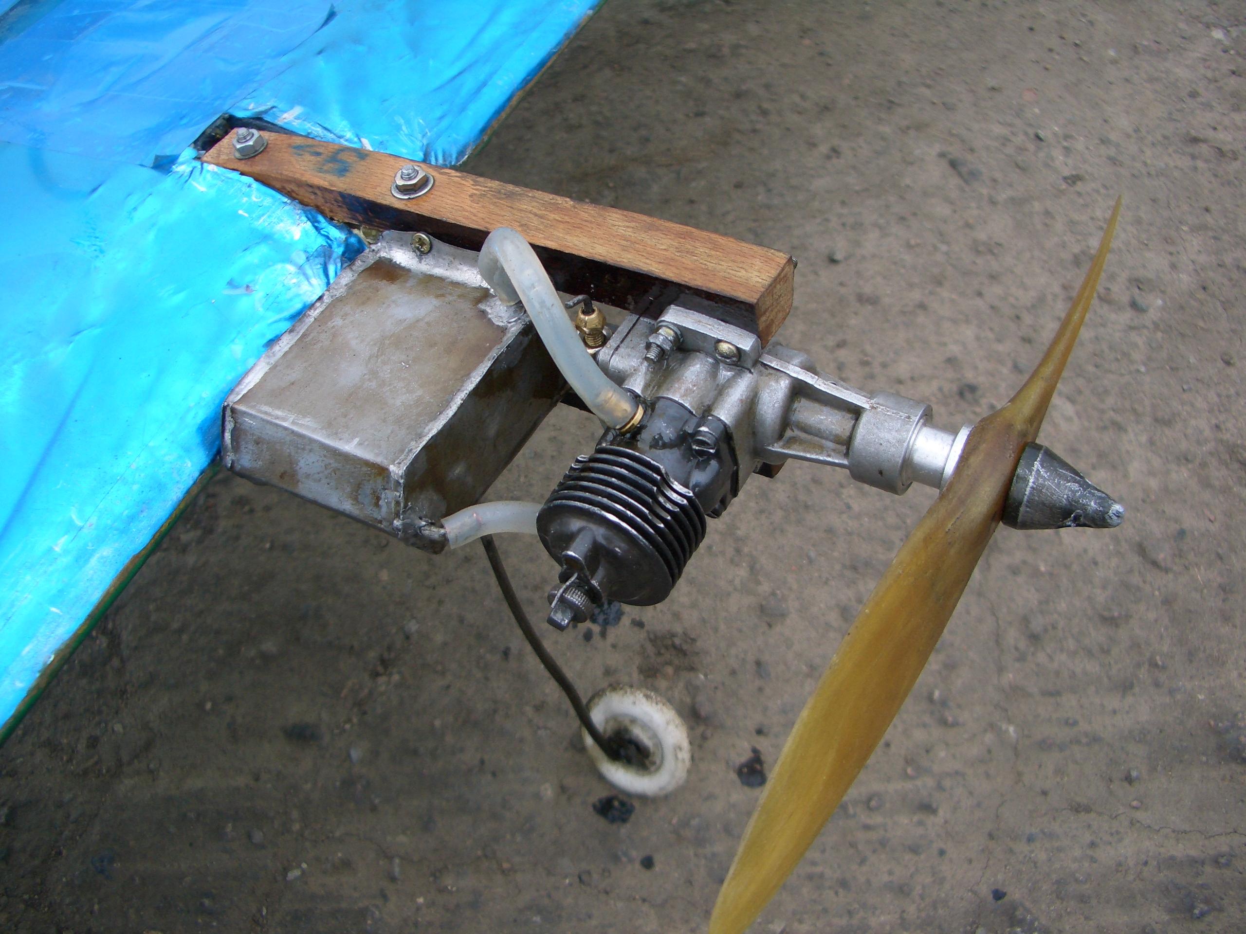Двигатели для моделей самолетов своими руками