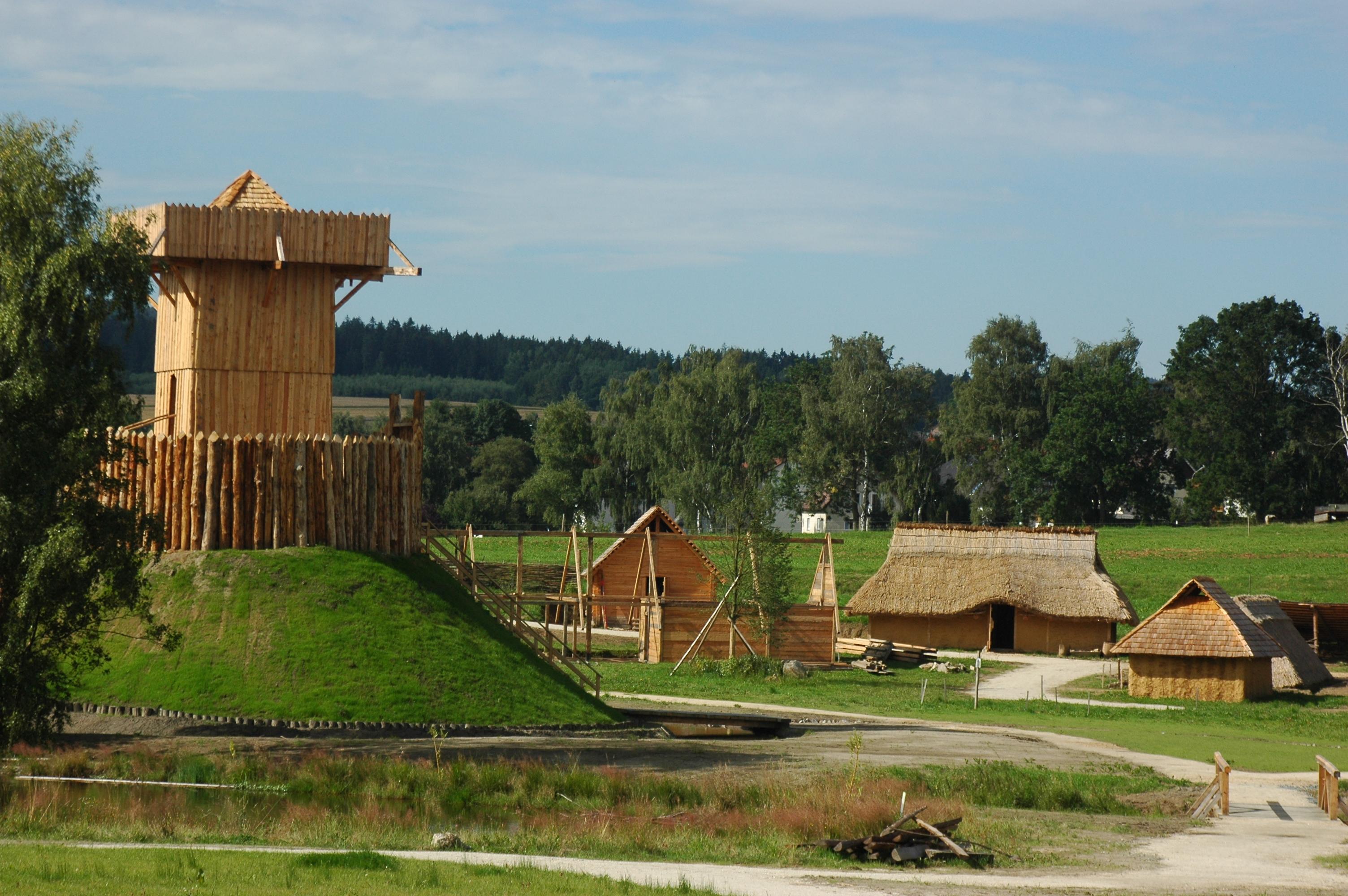 Neben den Slawen im Geschichtspark Bärnau