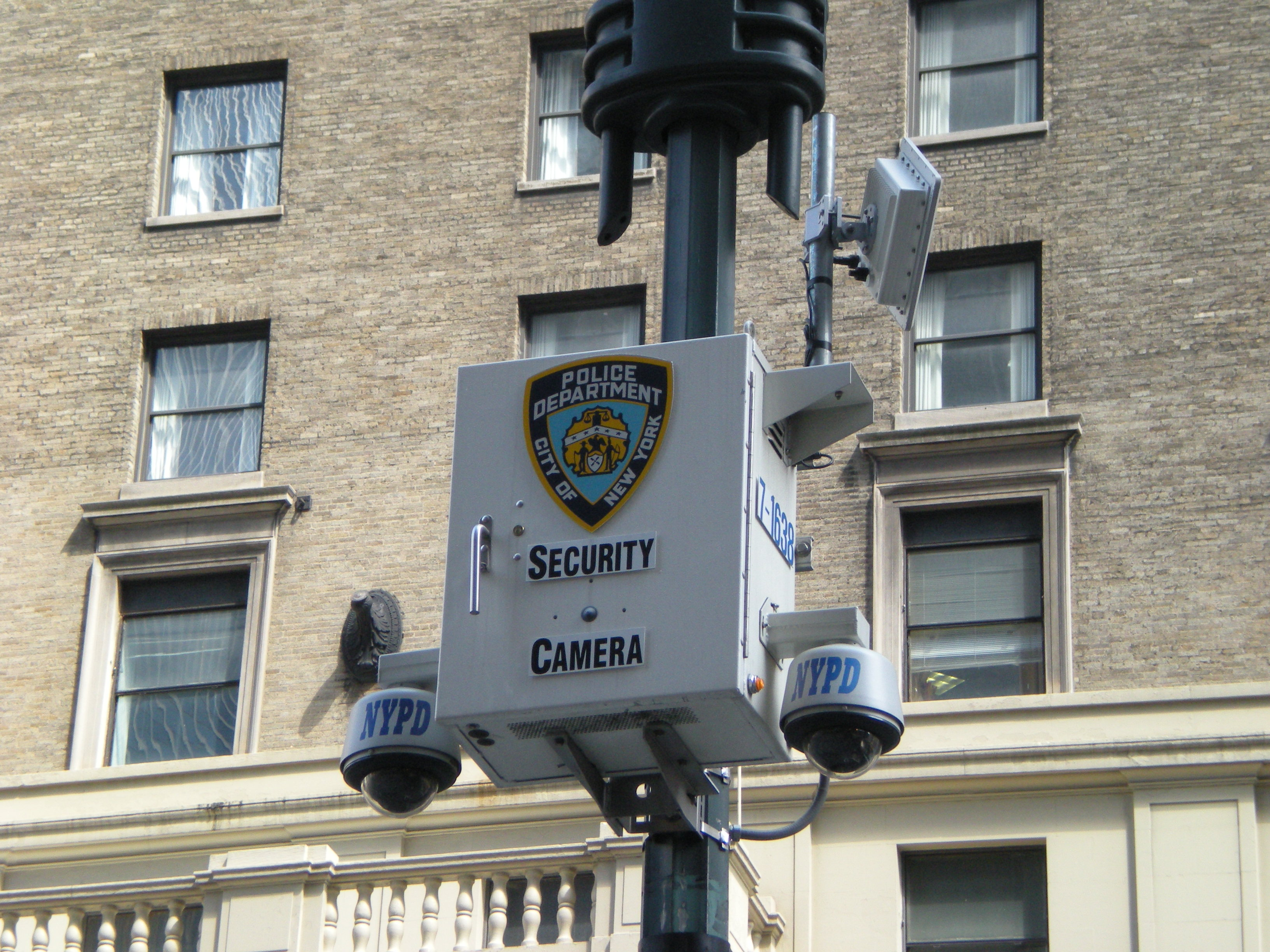 Image result for nypd surveillance cameras