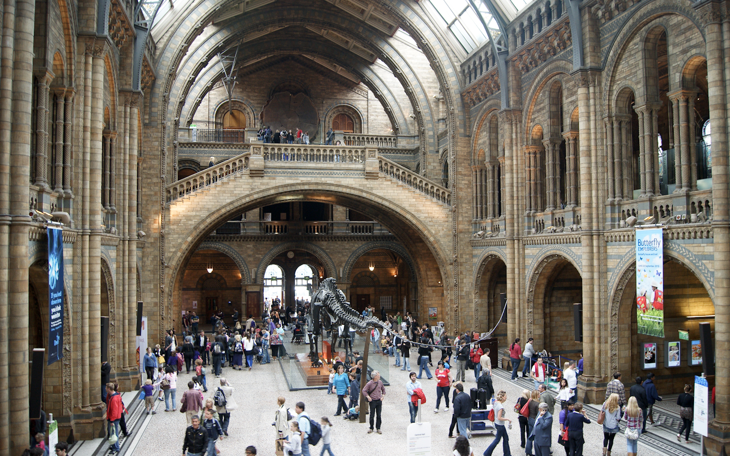 History Of Natural Science Museum London