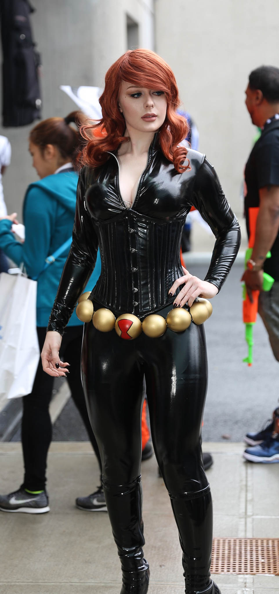 File New York Comic Con 2016 Black Widow 29598412434 Jpg Wikimedia Commons