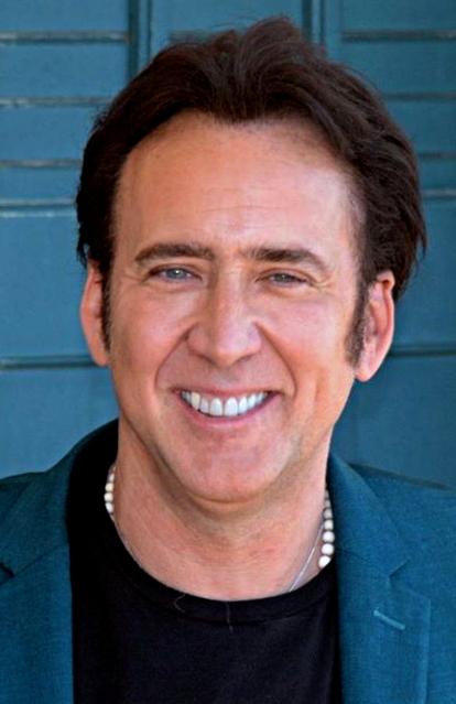 Depiction of Nicolas Cage