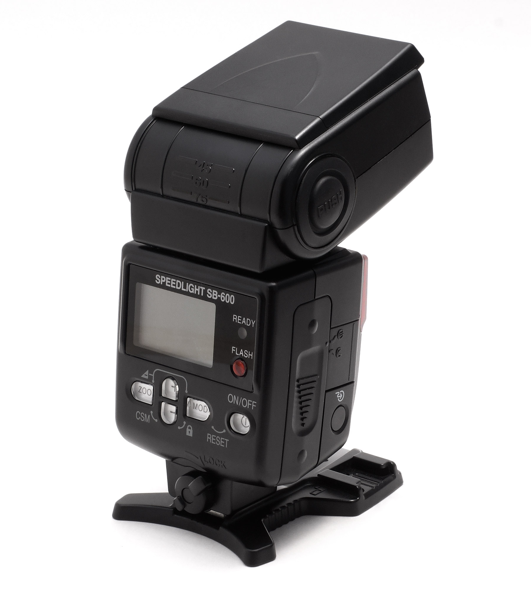 Nikon Speedlight SB-700 vs. Nikon Speedlight SB-600: front panel ...