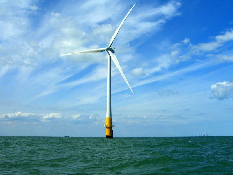 Off-shore Wind Farm Turbine