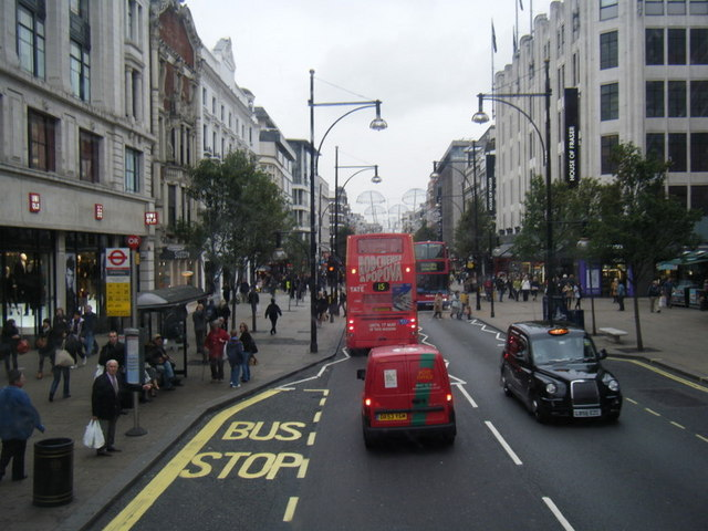 Oxford Street - geograph.org.uk - 1553003