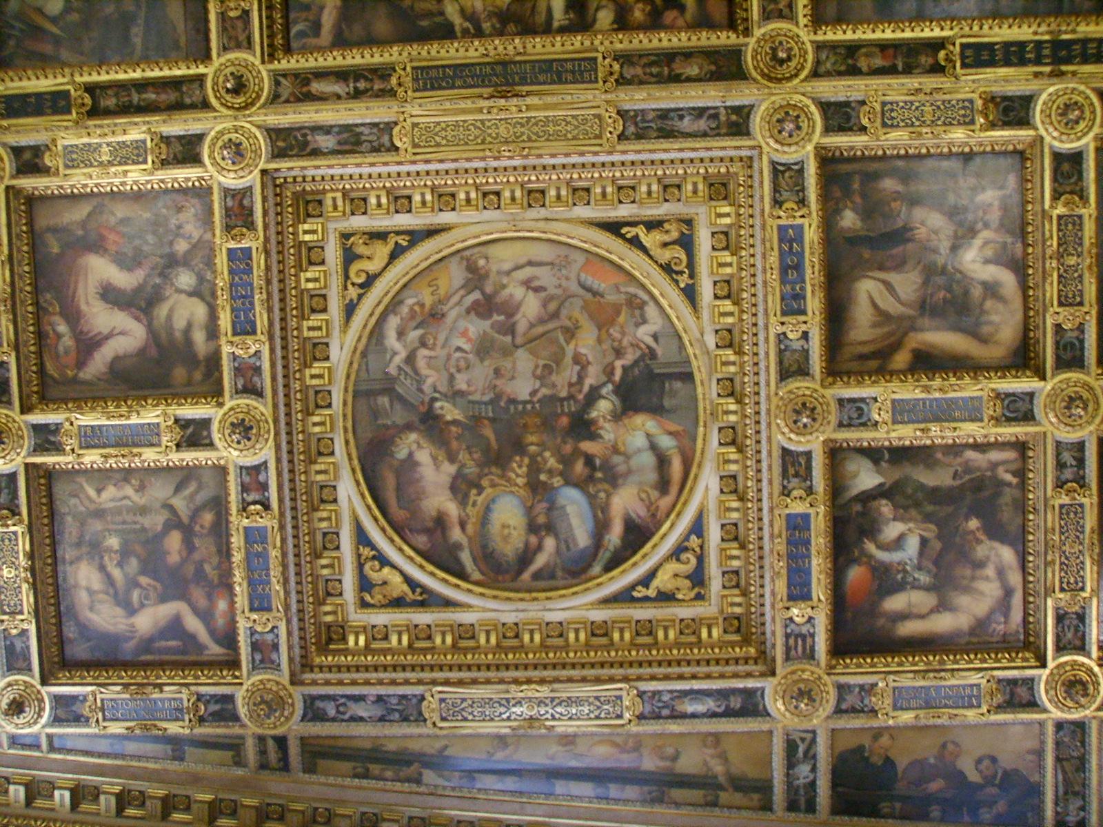 File:Palazzo vecchio, salone dei 500 soffitto 02.JPG - Wikimedia Commons