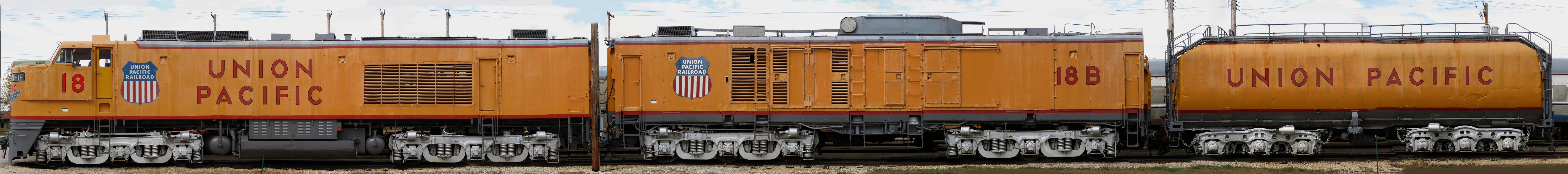 Union Pacific Gas Turbine Electric Lo otive