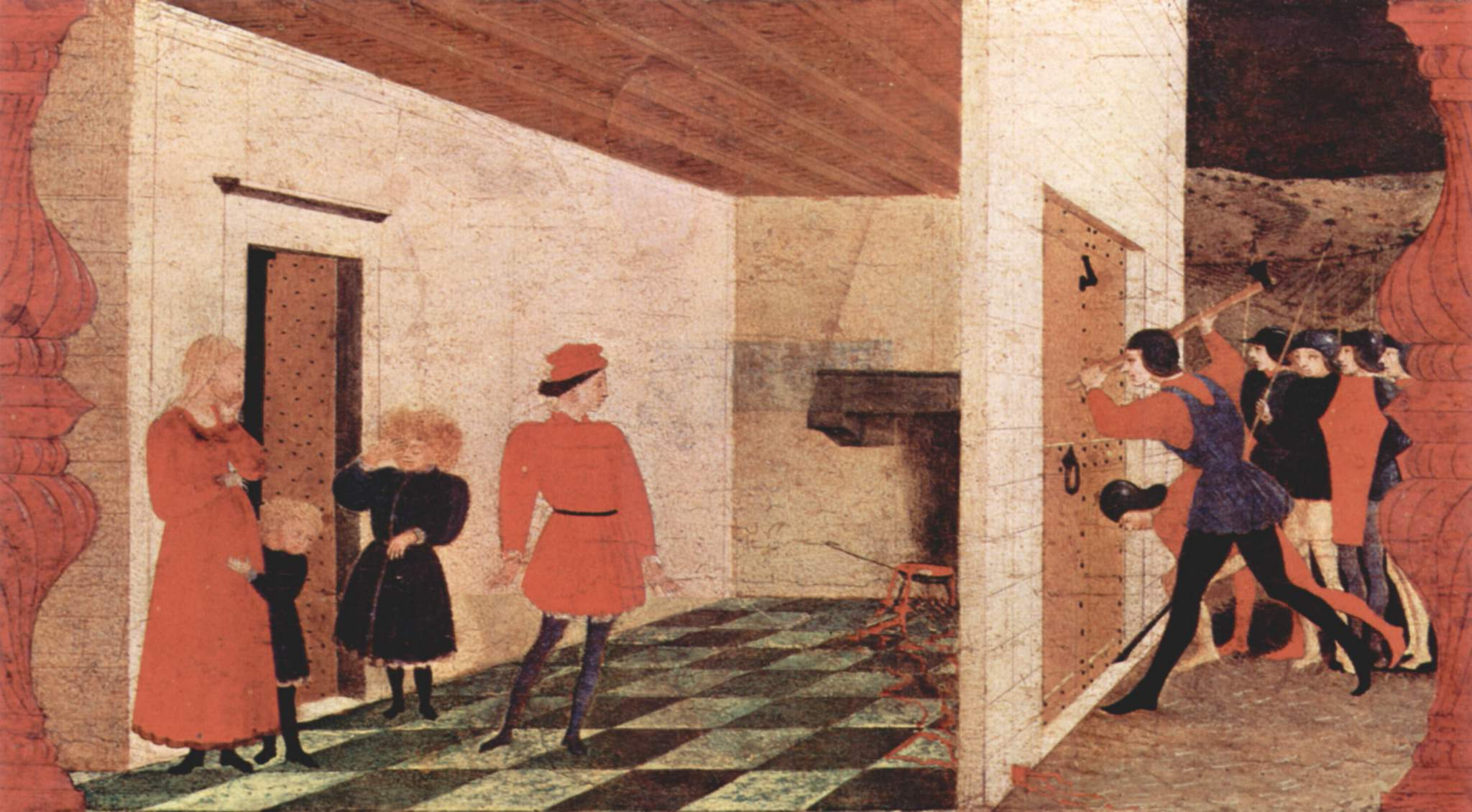 Famous Paintings By Paolo Uccello