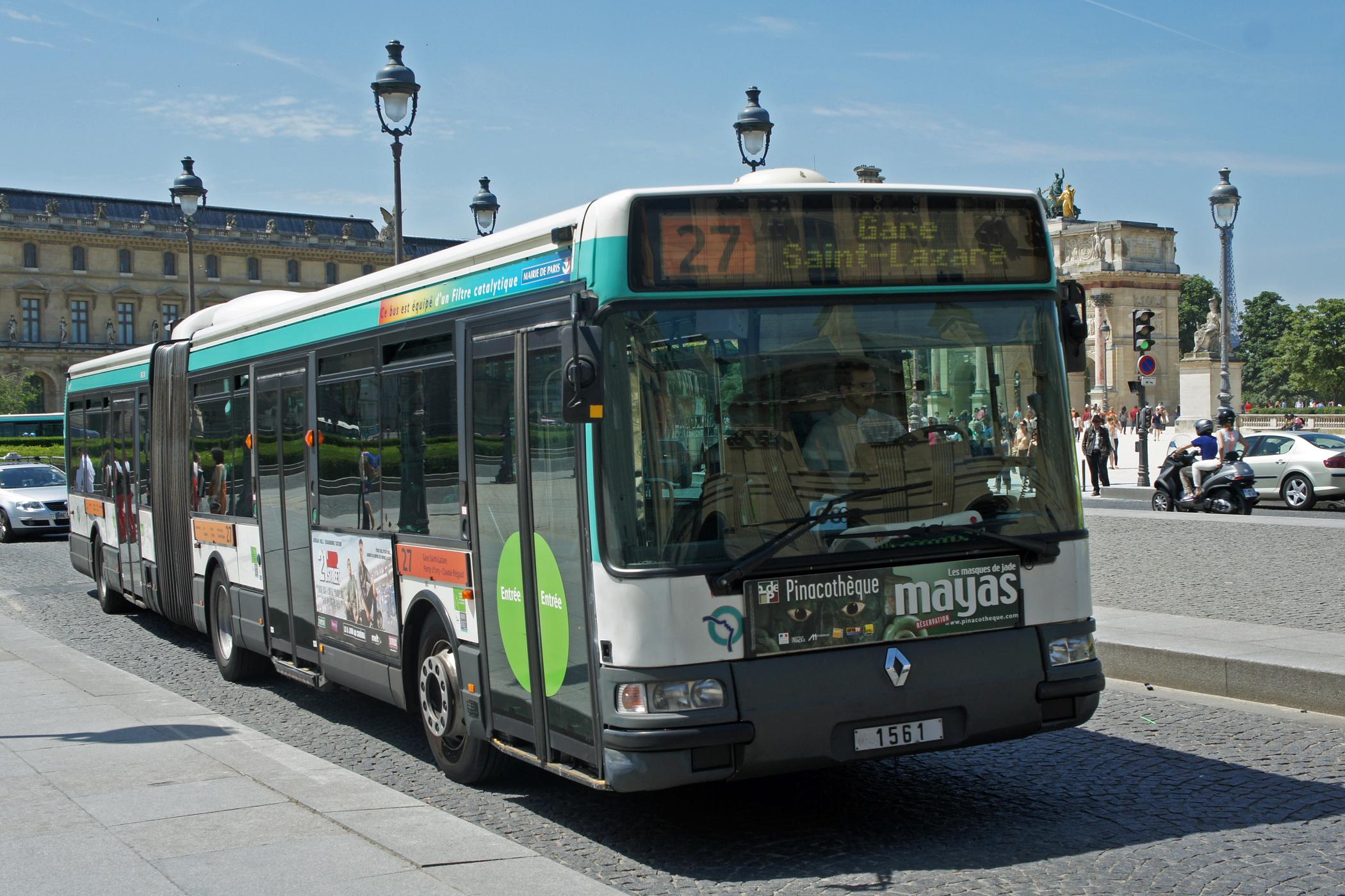 Bus De Paris De La Ville