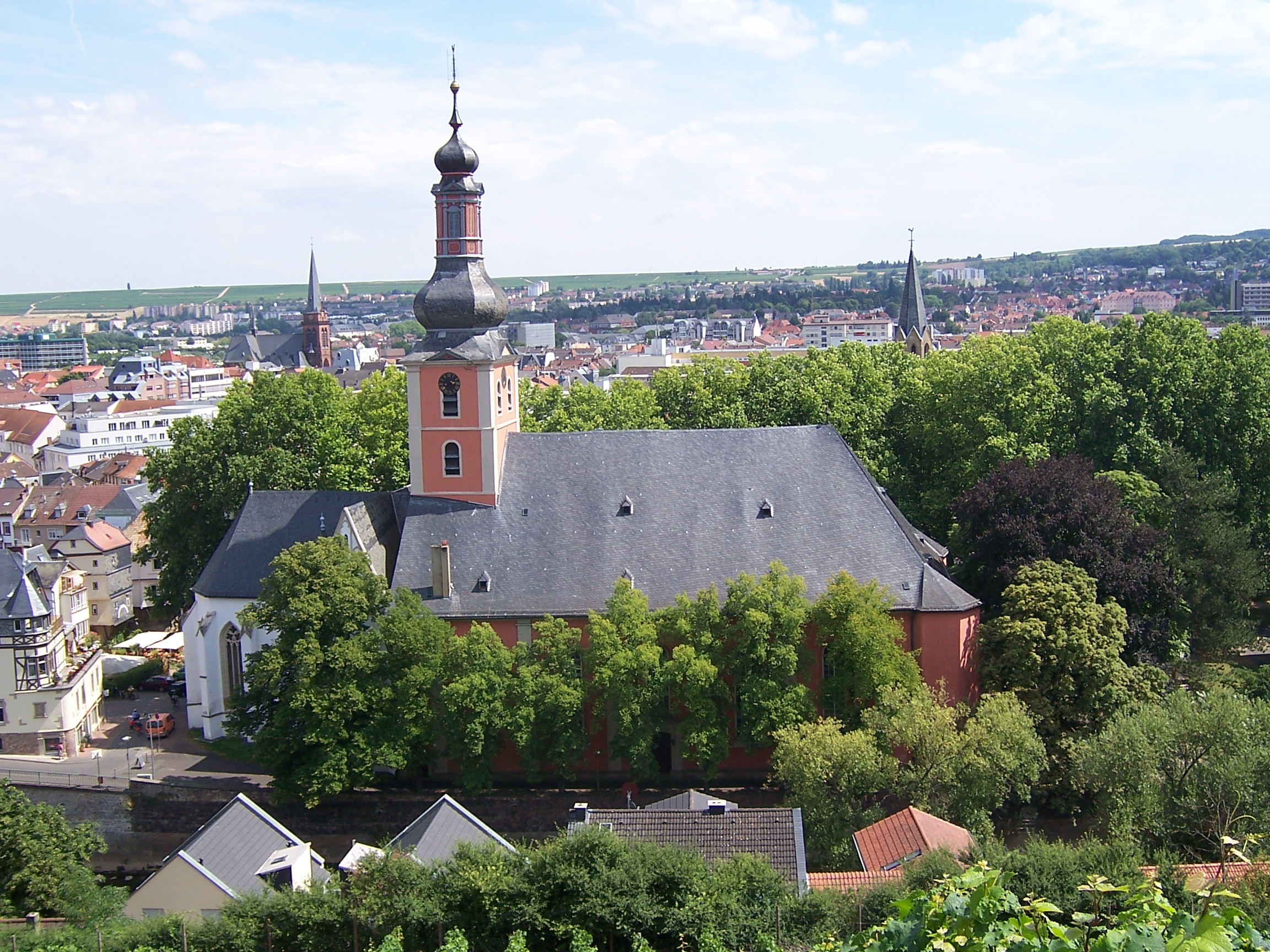 file pauluskirche bad kreuznach wikimedia commons. Black Bedroom Furniture Sets. Home Design Ideas