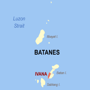 Mapa na Batanes ya nanengneng so location na Ivana