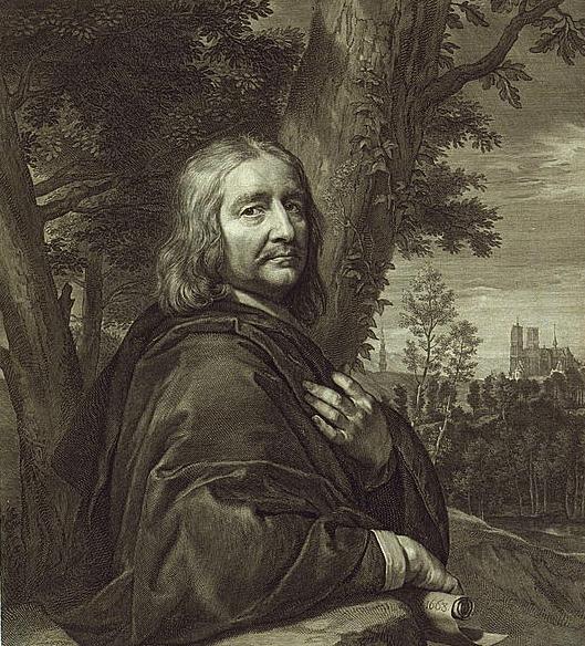 Fichier:Philippe de Champaigne (autoportrait, gravure de Gérard Edelinck).jpg
