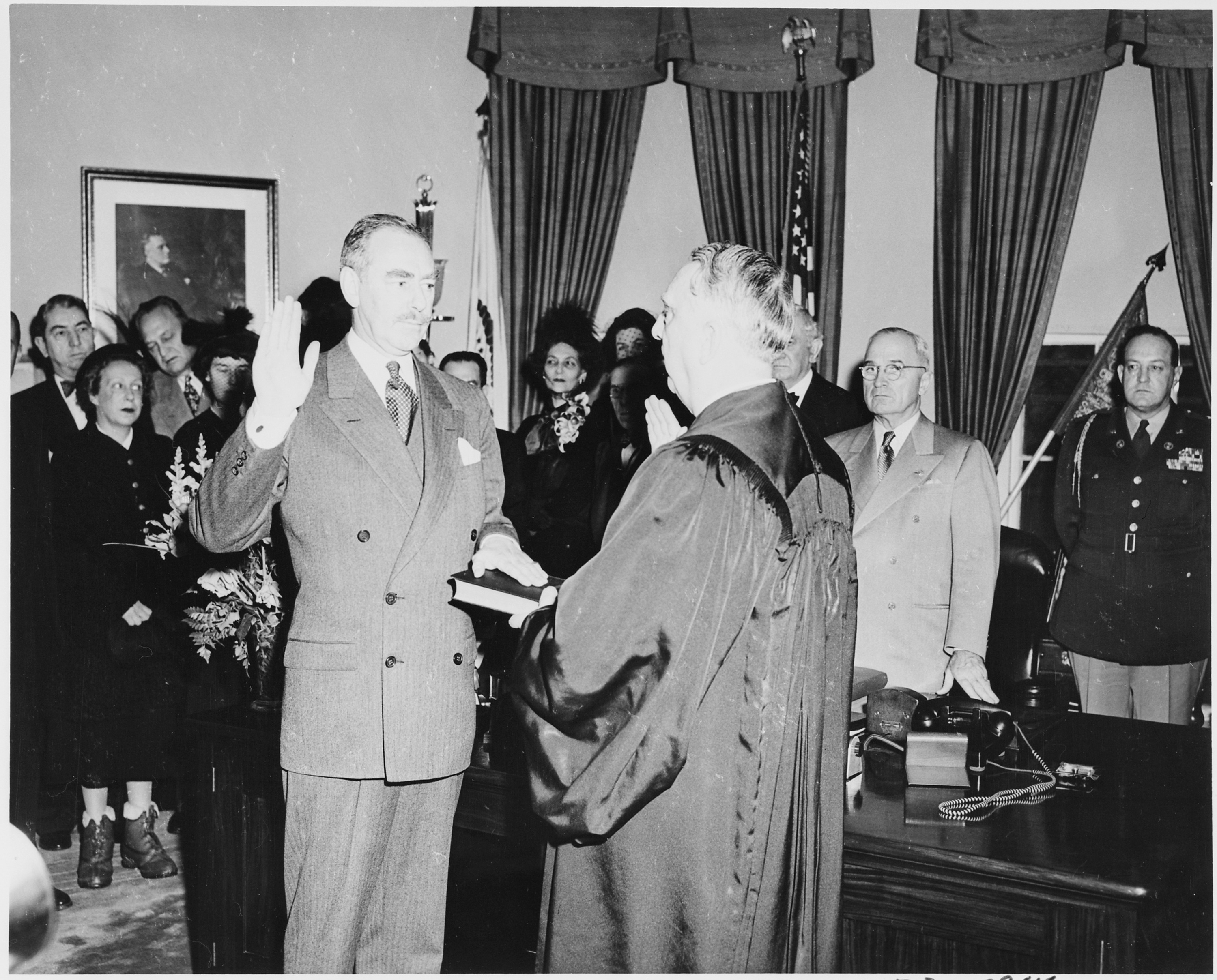 FilePhotograph of Dean Acheson taking the oath of office as – Oath of Office Template