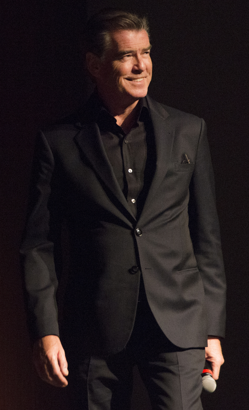 pierce brosnan wikipedia brosnan at the lbj presidential library in 2017
