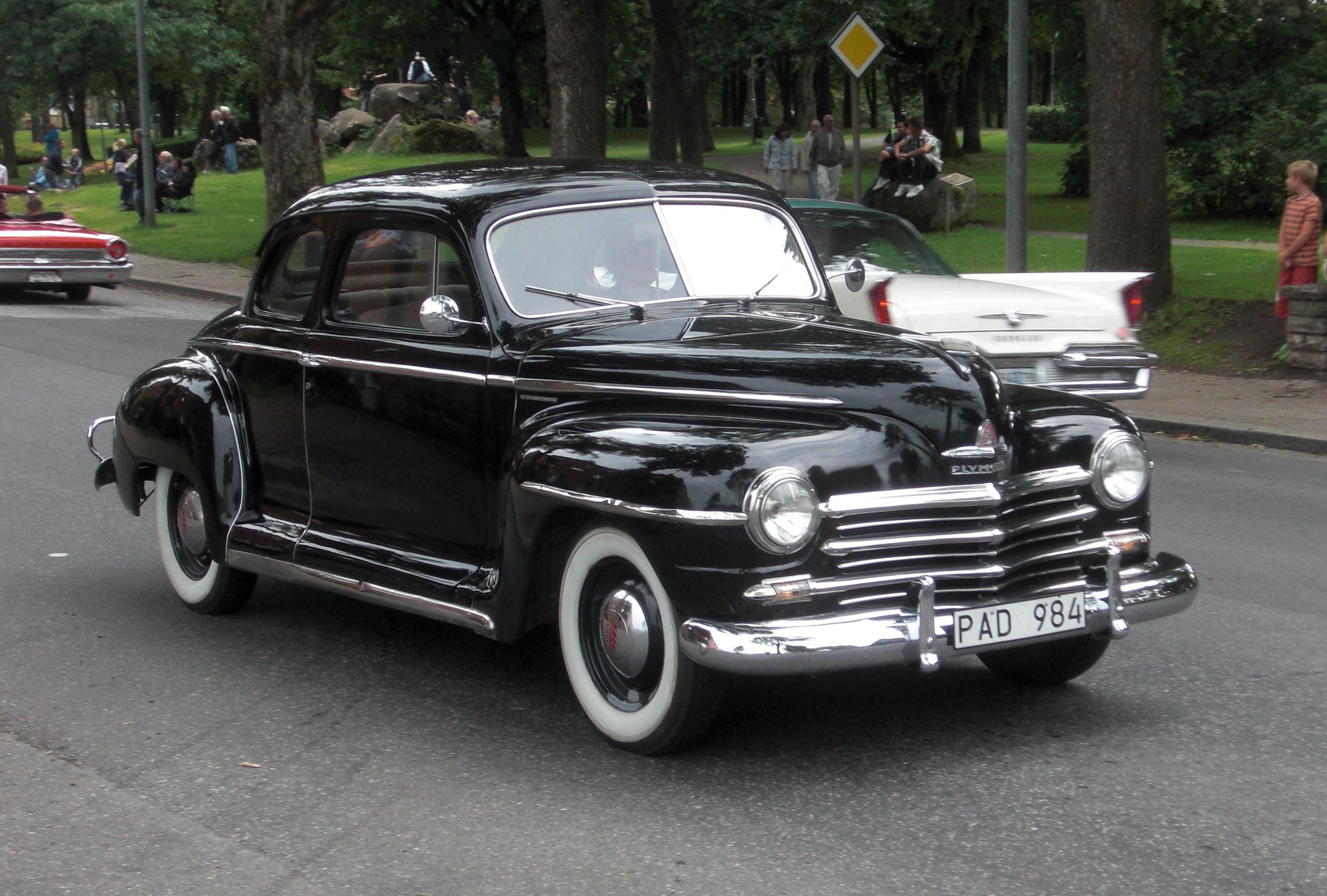 File Plymouth Special De Luxe 1947 Falk 246 Ping Cruising
