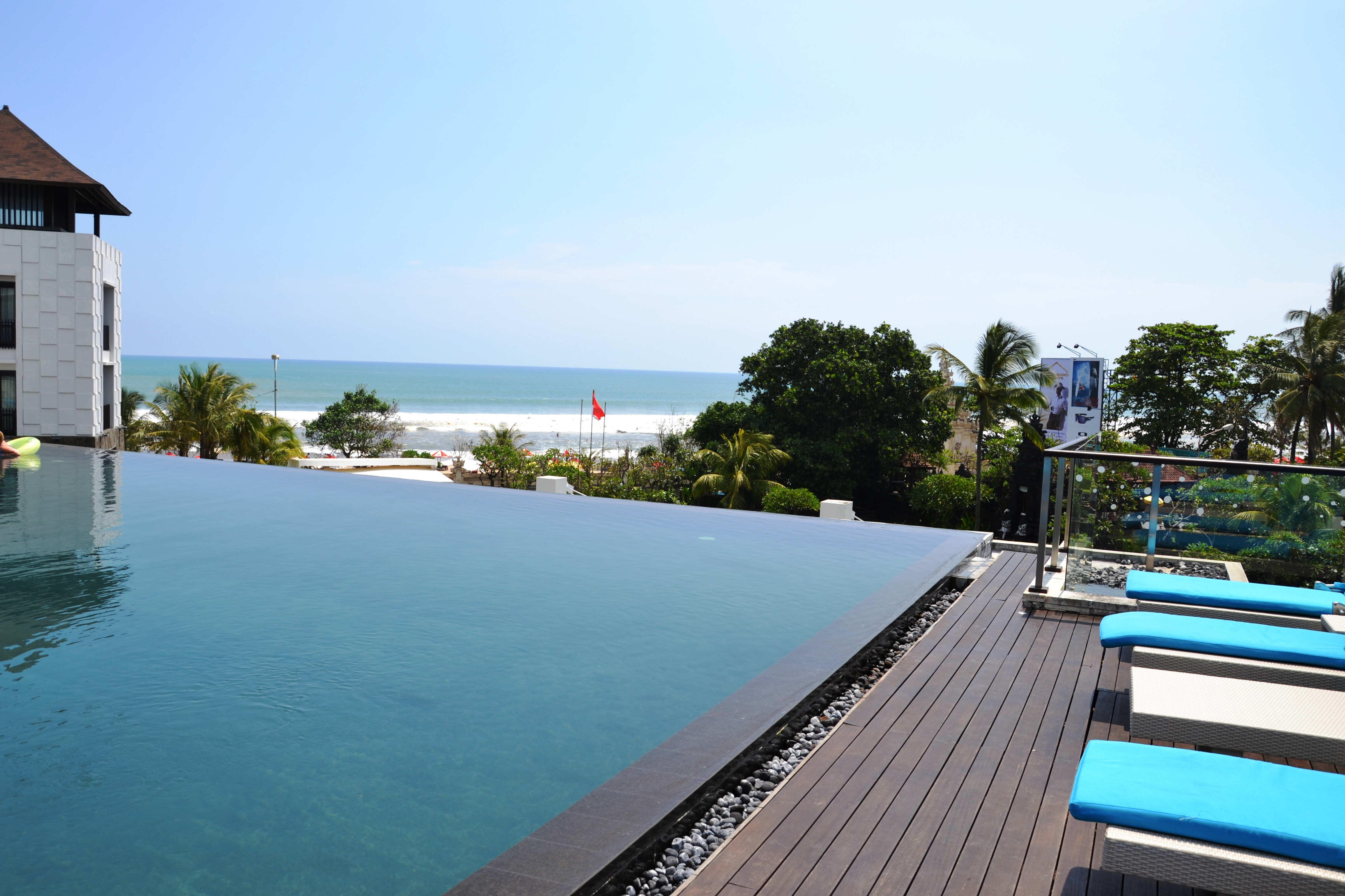 Above ground pool landscaping ideas pictures joy studio - Small infinity pool ...