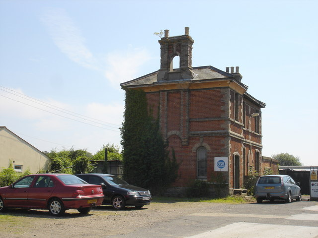 Raydon Station, as was (known as Raydon Wood after October 1895) - geograph.org.uk - 1370626