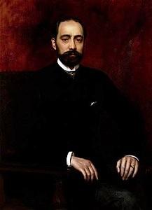 Retrato de Policarpo Sanz, Francisque Edouard Bertier, 1888