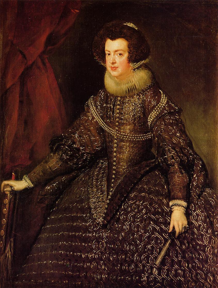 File:Retrato de la reina Isabel de Borbón, by Diego ...