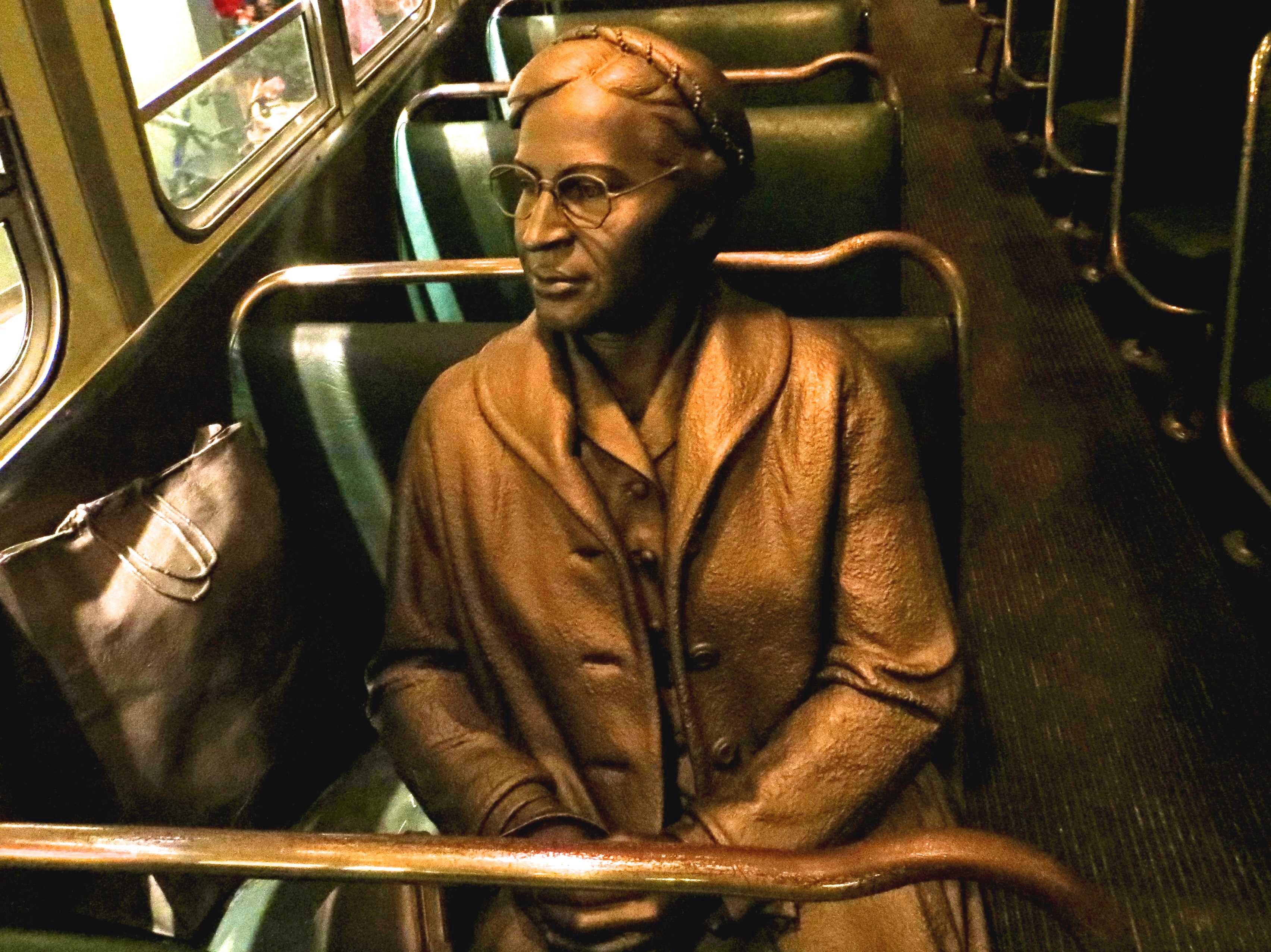 Rosa Parks Statute; Image by Lieske Leunissen-Ritzen