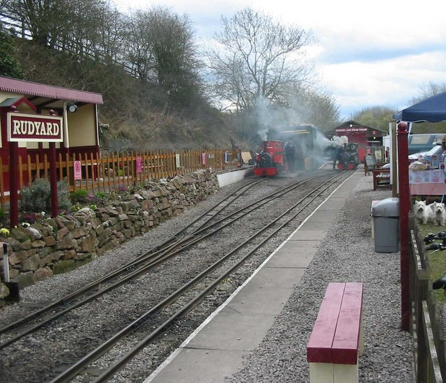 Rudyard Lake Station - geograph.org.uk - 153900