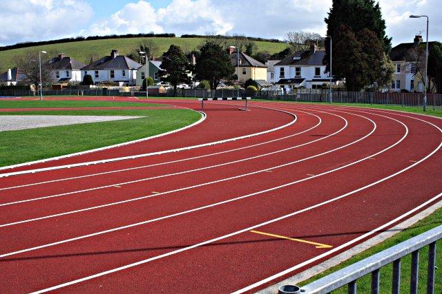 File:Running Track, Par - geograph.org.uk - 143484.jpg