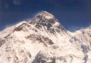 Mount Everest. Sagarmatha ck Oct18 2002.jpg
