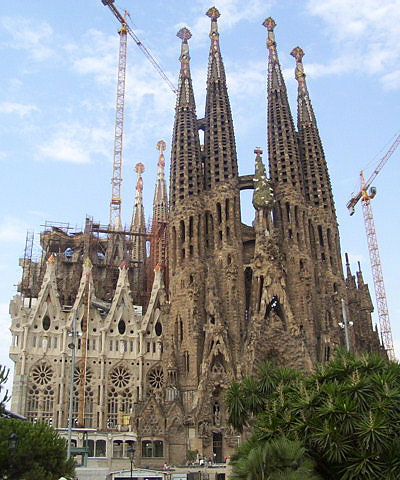 La Sagrada Família, a well-known symbol of Catalan culture