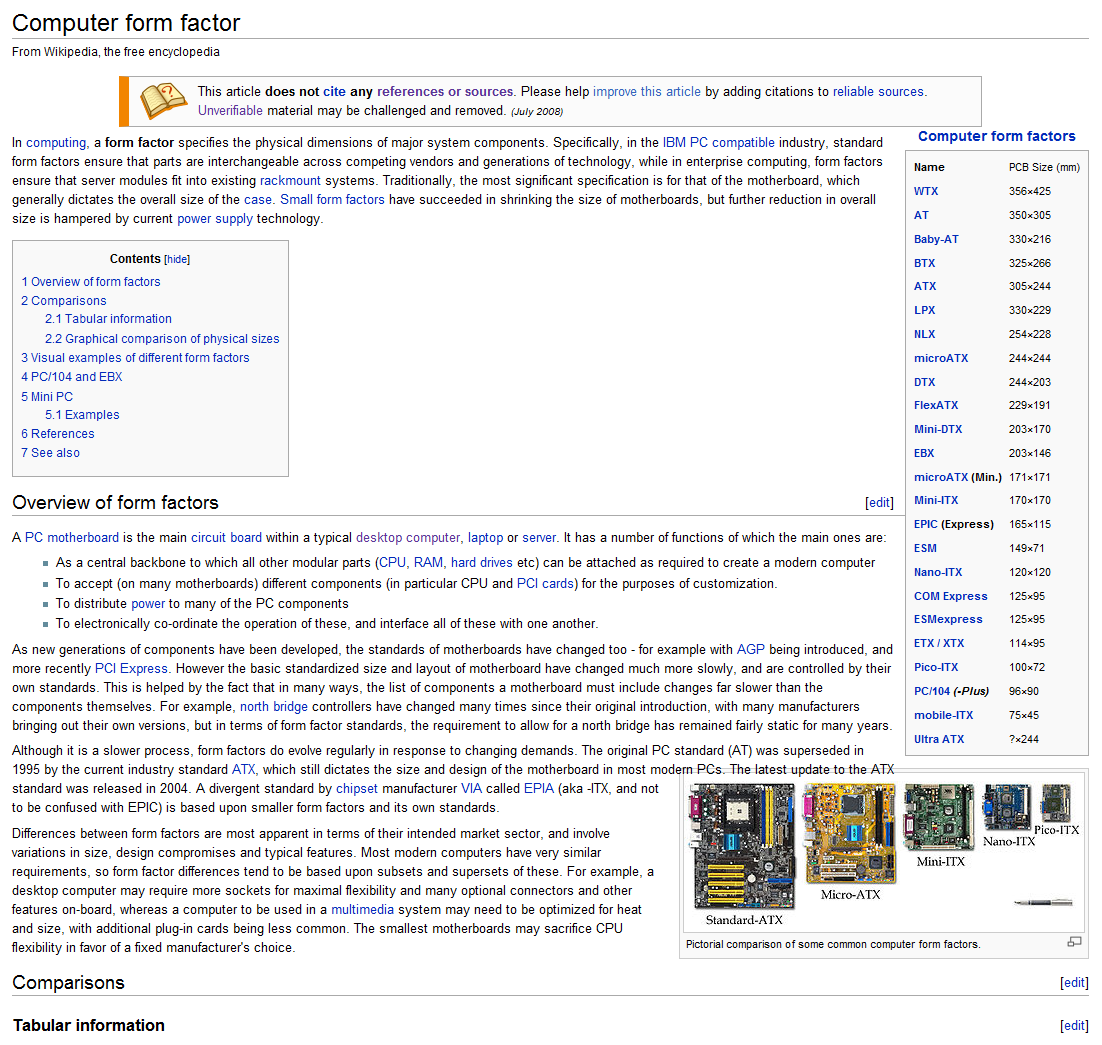 File:Screenshot of Computer form factor.png - Wikimedia Commons