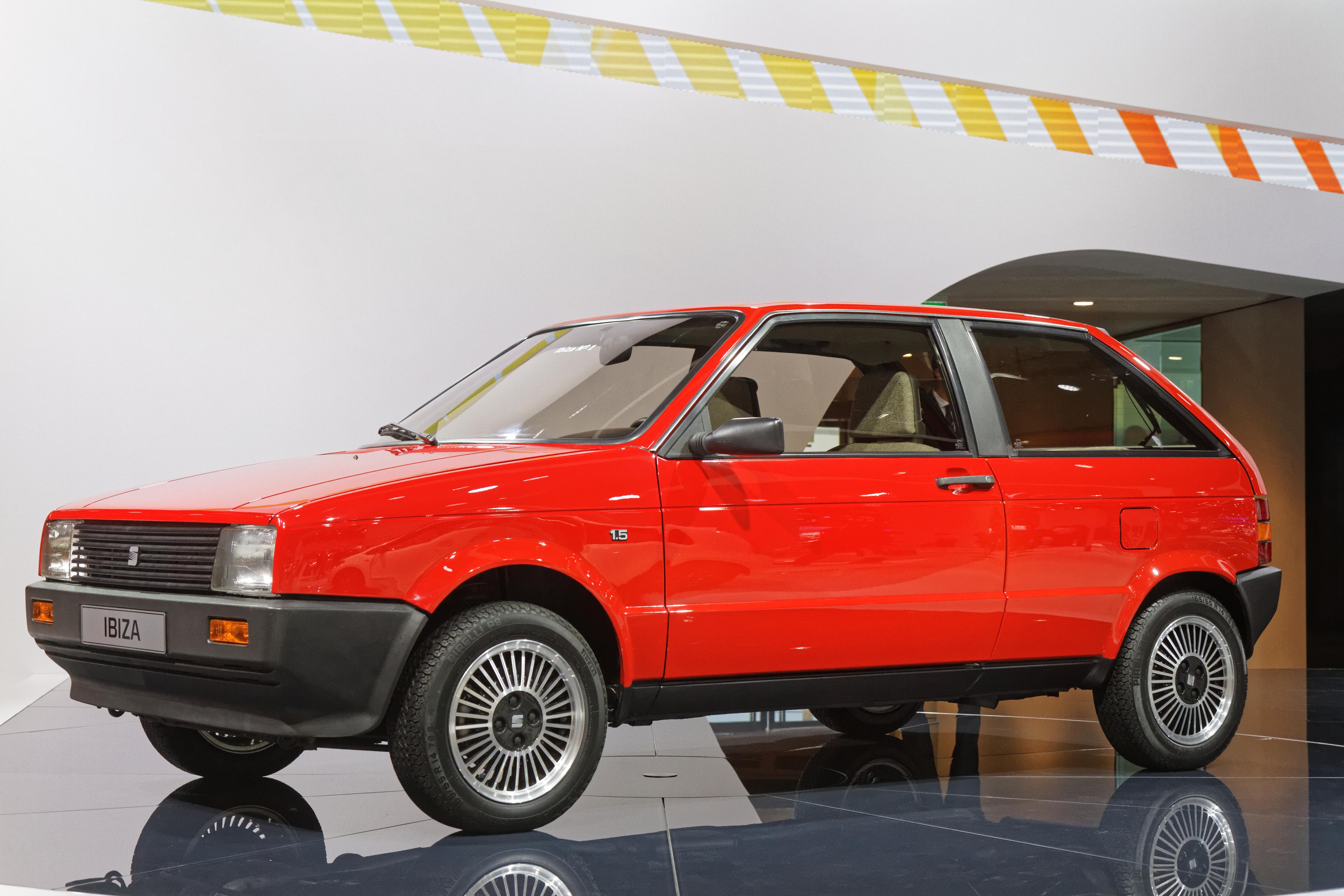 Seat Ibiza Dreitürer 1984 1991