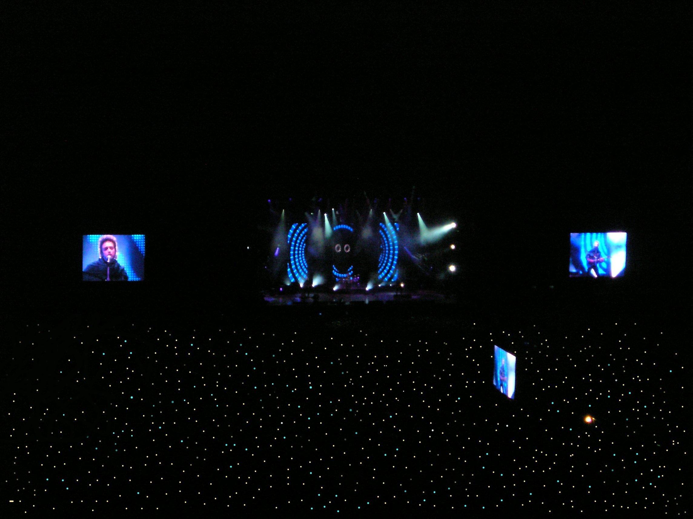 «¡Luces!», concierto en el estadio de River Plate, 2 de noviembre de 2007.