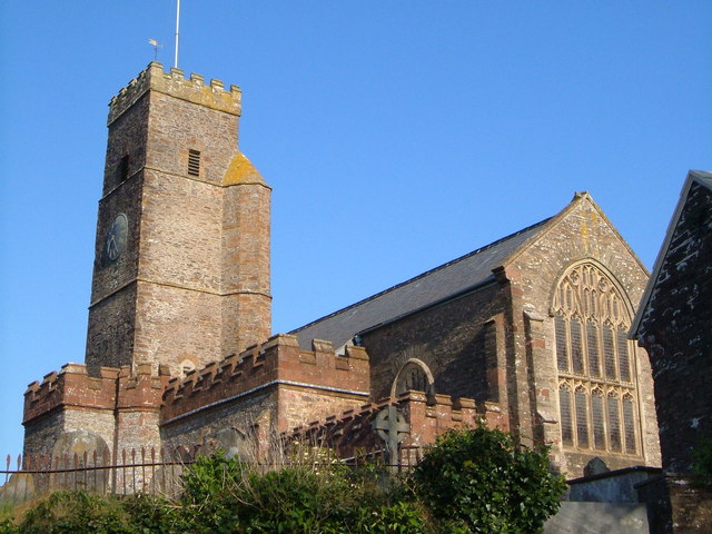 St David's church, Ashprington - geograph.org.uk - 161610