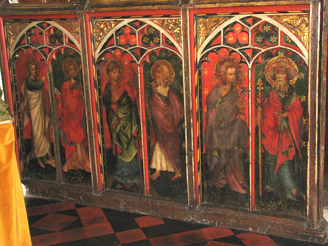 St James' church - rood screen - geograph.org.uk - 868346