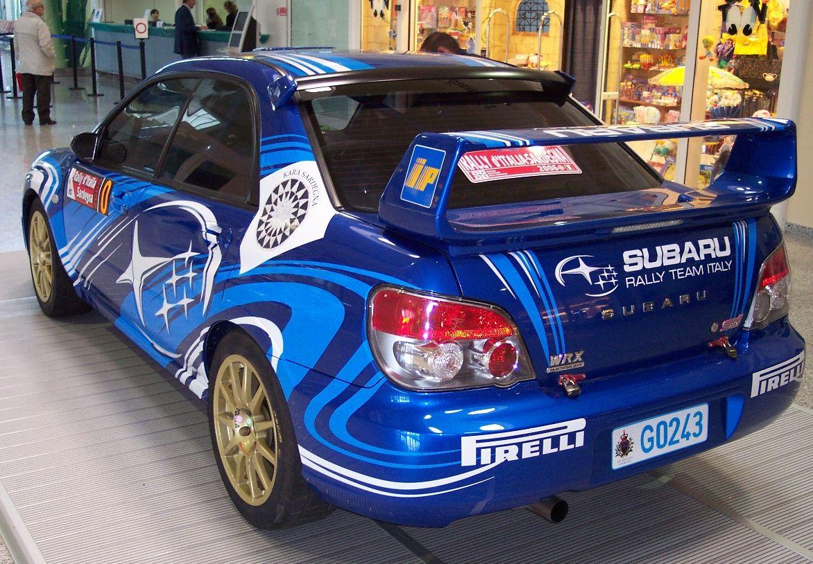 File Subaru Impreza Wrx 2006 Blue Hl Jpg Wikimedia Commons