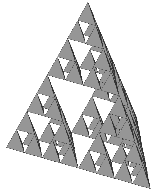 the sierpinski triangle essay Throughout my years playing around with fractals, the sierpinski triangle has  been a consistent staple the triangle is named after wacław sierpiński and as.