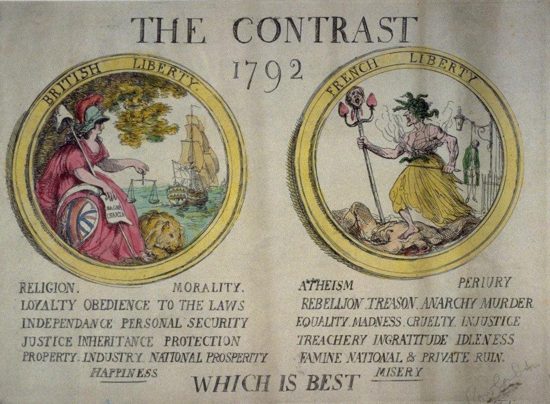 compare contrast american french revolution essay