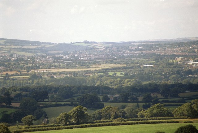 The View from Woodbury Common - geograph.org.uk - 131315